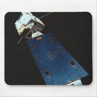 Painting of a Weather Satellite Mouse Mat