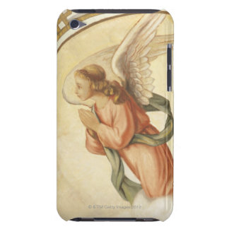 Painting of an angel praying iPod touch cases