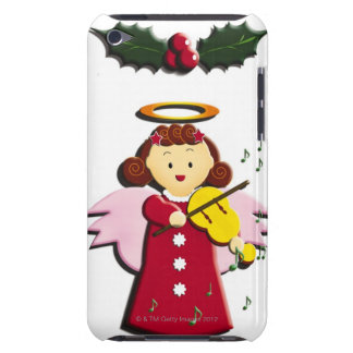 Painting of angel playing Violin, Illustration Barely There iPod Case