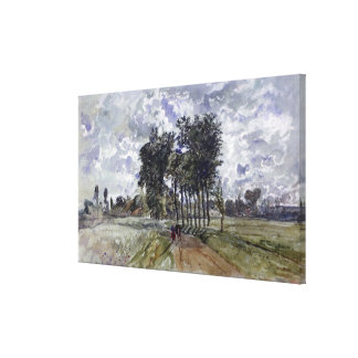 Painting of Countryside Canvas Print