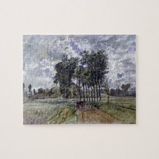 Painting of Countryside Jigsaw Puzzle