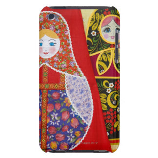 Painting of Russian Matryoshka doll Barely There iPod Case