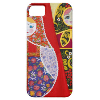 Painting of Russian Matryoshka doll iPhone 5 Cover