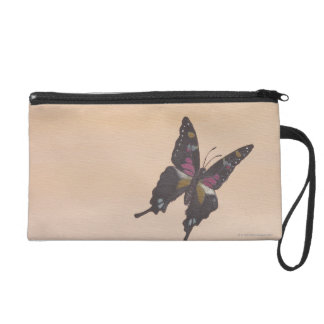 Painting of swallowtail butterfly wristlet