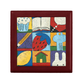 Painting of Various Objects by Chariklia Zarris Gift Box