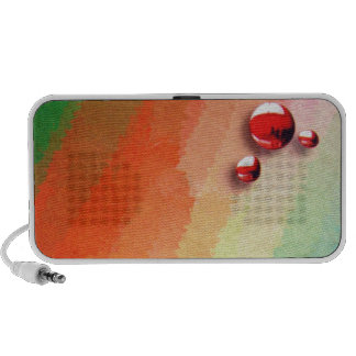 painting of you vary colors mini speakers
