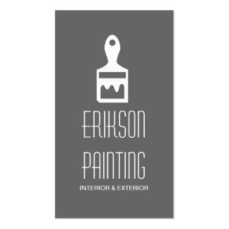 Painting Painter Construction Business Card Pack Of Standard Business Cards