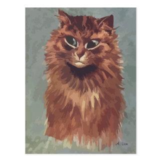 Painting Persian cat n° 4 Postcard