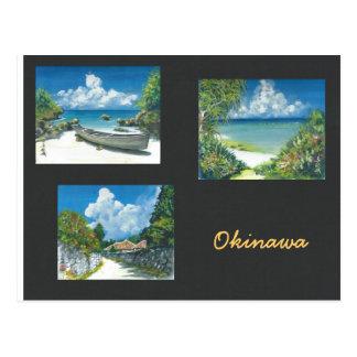 Painting Postcard Okinawa