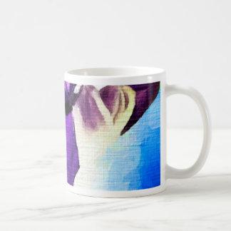 Painting:  Purple People Eaters Basic White Mug