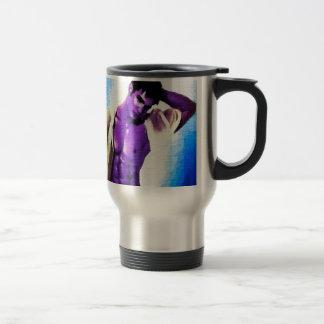 Painting:  Purple People Eaters Mug
