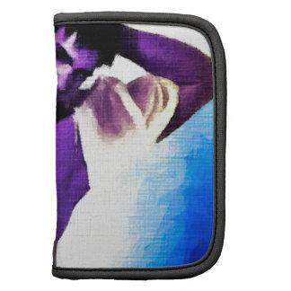 Painting:  Purple People Eaters Folio Planner
