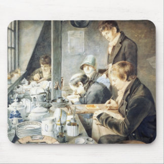 Painting Room of Mr. Baxter, No. 1 Goldsmith Stree Mouse Pad