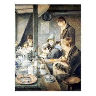 Painting Room of Mr. Baxter, No. 1 Goldsmith Stree Postcard