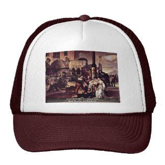 "Painting Series, ""Sicilian Evenings"" ""Scene 1"" Trucker Hat"