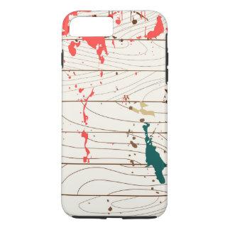 Painting Spots on Wood iPhone 8 Plus/7 Plus Case
