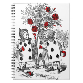 Painting the Roses Red Notebooks