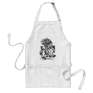 Painting the Roses Standard Apron