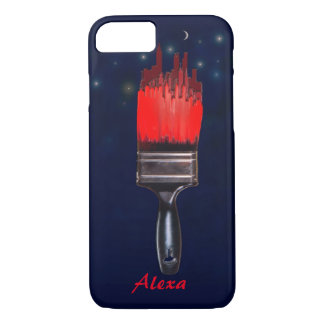 painting the town red iPhone 7 case