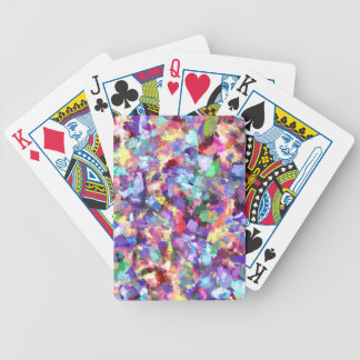 Painting With Color Bicycle Playing Cards
