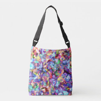 Painting With Color Crossbody Bag
