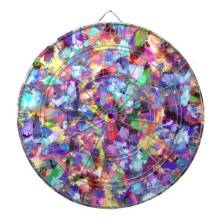 Painting With Color Dartboard