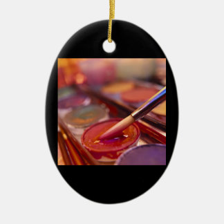 Painting With Colors Christmas Ornament