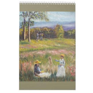Paintings calender wall calendars