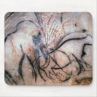Paintings depicting mammoth and cattle, from the C Mouse Pad