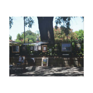 Paintings for Sale in the French Quarter Canvas Print