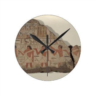 Paintings of Metjetji, detail of cult priests (pai Round Clock