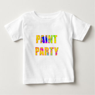 paintparty.png baby T-Shirt
