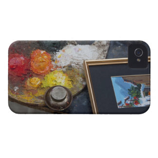 Paints and paintings in historic Santa Cruz Case-Mate iPhone 4 Cases