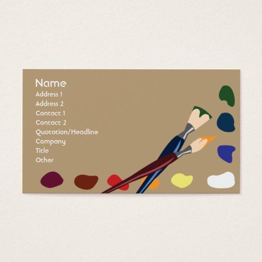 Paints - Business Business Card