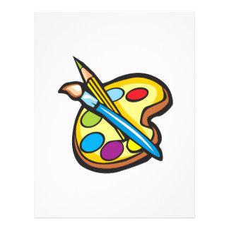 Paints Custom Flyer