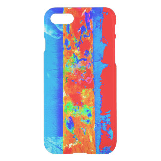 Paintstick red and blue phone cover