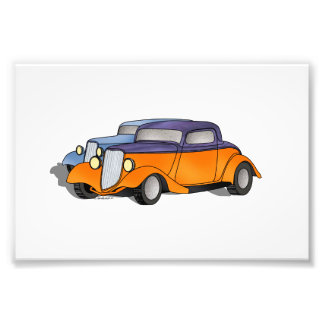 Pair of 33 Fords Photo Print