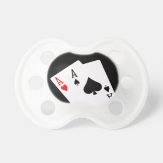 Pair of Aces Pacifier