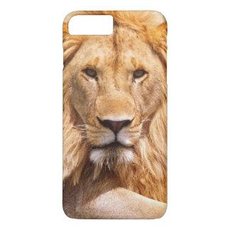 Pair of African Lions, Panthera leo, Tanzania iPhone 8 Plus/7 Plus Case