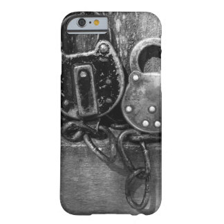Pair of Antique Locks Black & White Photography Barely There iPhone 6 Case