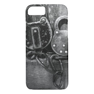 Pair of Antique Locks Black & White Photography iPhone 7 Case