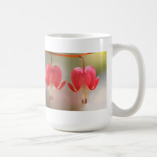 Pair of Bleeding Hearts Flowers Coffee Mug