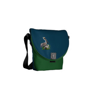 Pair of Brown Pelicans, Customizable Commuter Bags