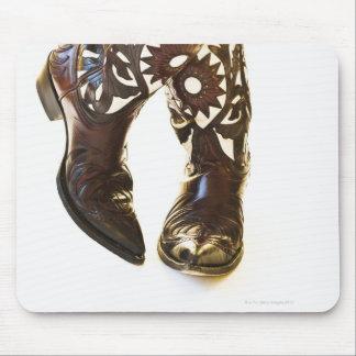 Pair of cowboy shoes 2 mouse mat