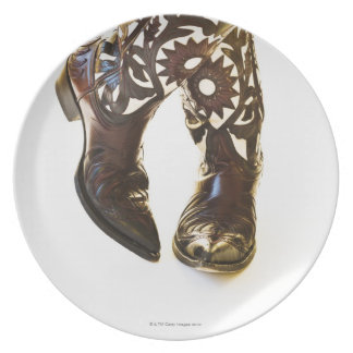 Pair of cowboy shoes 2 plate
