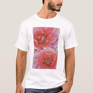 Pair of Dahlia flowers, Dahlia spp. , T-Shirt
