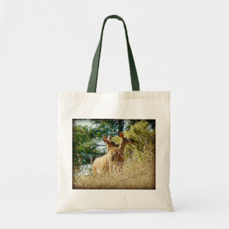 Pair of Does Canvas Bag