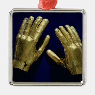 Pair of funerary hands, from Peru, c.200-c.800 Christmas Ornament