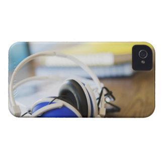 Pair of Headphones iPhone 4 Cover
