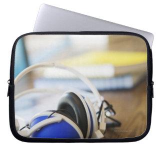 Pair of Headphones Laptop Sleeve